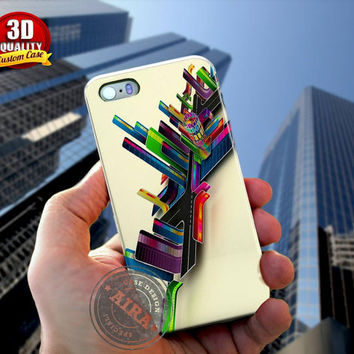 Digital City Case for Iphone 4, 4s, Iphone 5, 5s, Iphone 5c, Samsung Galaxy S3, S4, S5, Galaxy Note 3, Note 2