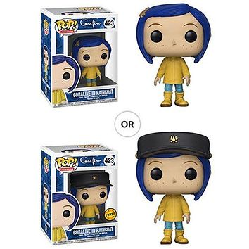 Coraline in Raincoat Funko Pop! Animation Coraline