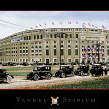 Yankee Stadium (Black Border)