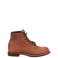 Red Wing Men's Round Toe Boot - Brown Work Boots - ShopBAZAAR