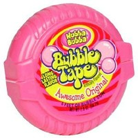 Hubba Bubba Bubble Tape, Awesome Original, 2 Ounce (Pack of 24)