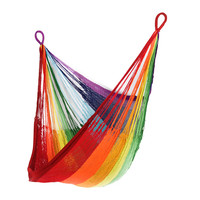 Yellow Leaf Hammocks Rainbow Sitting Chair