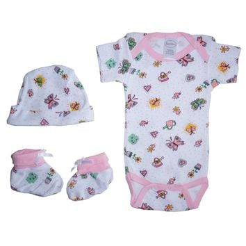 Bambini Girls Baby Gift Set  - Made in USA