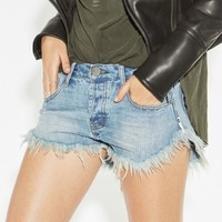 COBAINE BRANDOS RELAXED FIT DENIM SHORT