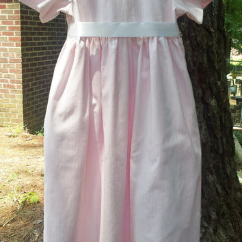 Regency Jane Austen Dress for Girls Size 10, Ready to Ship