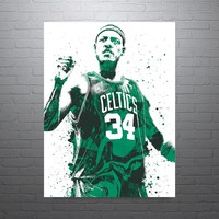 Paul Pierce Boston Celtics Poster