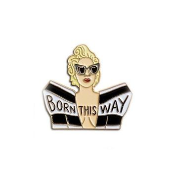 Lady Gaga pin