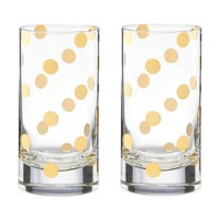 kate spade new york Pearl Place High Ball Glass (Set of 2)