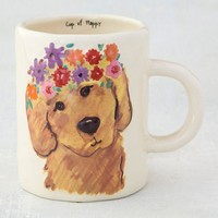 Dog Embossed Mug By Natural Life