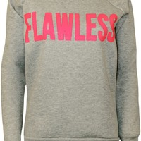 WearAll Women's Flawless Print Sweatshirt