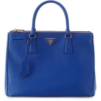 Prada Saffiano Double-Zip Executive Tote