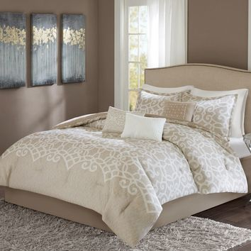Madison Park Beatrice 7-piece Comforter Set