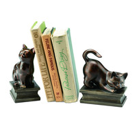 Playful Cats Bookends (pair)
