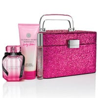 NEW! Bombshell Glitter Train Case