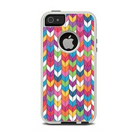 The Color Knitted Apple iPhone 5-5s Otterbox Commuter Case Skin Set