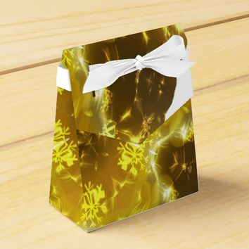 Golden Kaleidoscope Favor Box