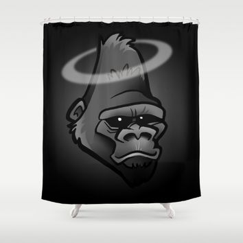 R.I.P. Harambe Shower Curtain by BinaryGod.com