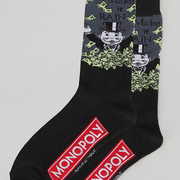 Monopoly Make It Rain Sock
