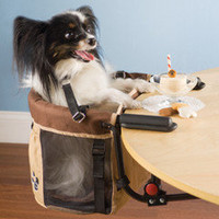 The Pet High Chair - Hammacher Schlemmer