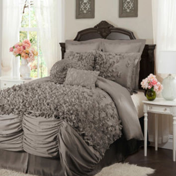 Walmart: Lucia 4-Piece Bedding Comforter Set