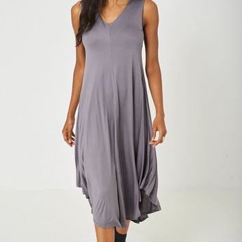 Swing Midi Dress in Grey