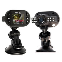 Free Shipping! Newest Mini Size HD 1920*1080P 12 IR LED Car Vehicle CAM Video Dash Camera C600 Recorder Russian Car DVR Y677