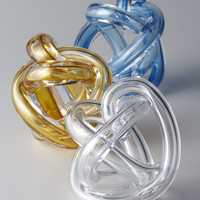 Clear Knot Sculpture - Neiman Marcus