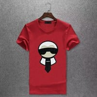 FENDI T-Shirt Top Tee