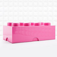 Lego 8 Brick Storage Box in Pink - Urban Outfitters