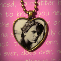 River Phoenix (My Own Private Idaho) So Sexy Heart Necklace Pendant