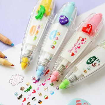 Cute correction tape masking Cartoon animal Decoration tapes for diary stickers scrapbooking stationery School supplies A6514
