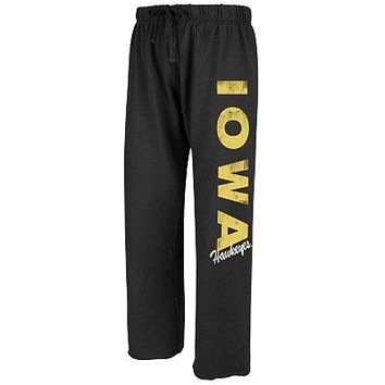 Iowa Hawkeyes Fleece Sweatpants - Juniors
