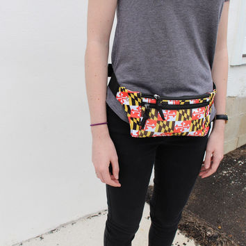 Maryland Flag / Fanny Pack