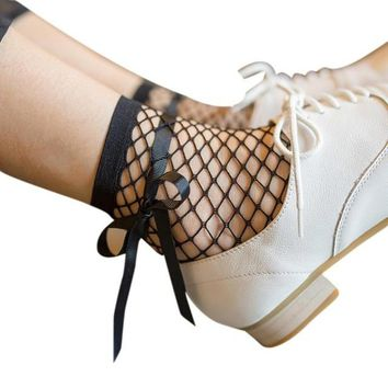 Fashion  Fishnet Socks Summer Women  Socks