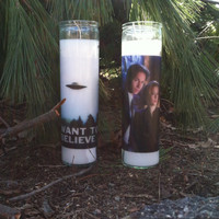 X-Files Candles 2 Pack
