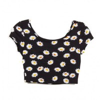 DAISY CROP TOP - WOMEN'S