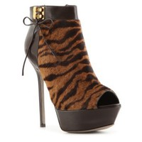 Sergio Rossi Tiger Bootie Sandals Women's Shoes Luxury - DSW