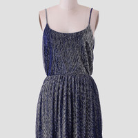 Shooting Stars Metallic Dress