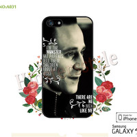 Loki Phone Cases, iPhone 5/5S Case, iPhone 5C Case, iPhone 4/4S Case, Galaxy S3 S4 S5 Note 2 Note 3 Case for iPhone Tom Hiddleston Loki-A031