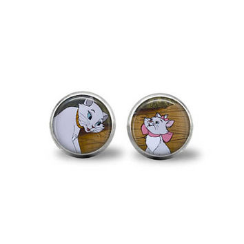 Buy 2,Get 1 Free - Aristocats Duchess & Marie Earrings