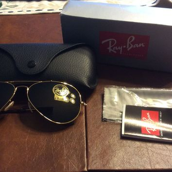 Cheap NWT Ray-Ban ANTHROPOLOGIE Aviator Outdoorsman Sunglasses outlet