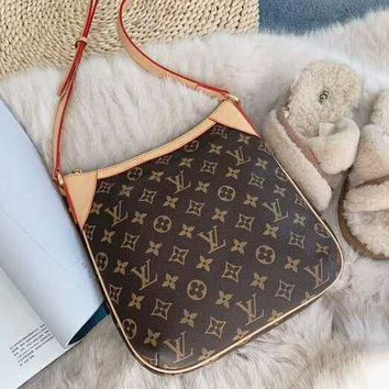 LV Louis Vuitton High Quality Stylish Retro Leather Handbag Tote Shoulder Bag Crossbody Satchel