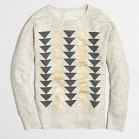 FACTORY METALLIC ARROWS SWEATSHIRT