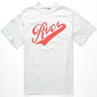 Rvca Pennant Mens T-Shirt Grey  In Sizes