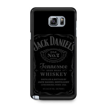 Jack Daniels Tennessee Whiskey Grey Note 5 Case