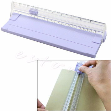 A4 Precision Paper Card Trimmer Ruler Photo Cutter Cutting Blade Office Kit