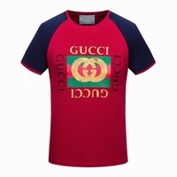 Gucci men and women T-Shirt red, blue M/3XL