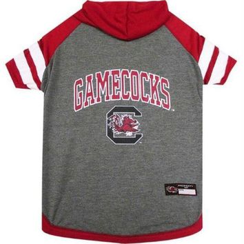 auguau South Carolina Gamecocks Pet Hoodie T-Shirt