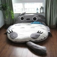 Cheap Price 290*160cm Huge Comfortable Cute Cartoon Totoro Bed Sleeping Bag Pad:Amazon:Home & Kitchen