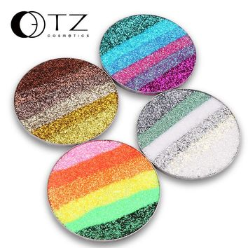 Pressed Glitters Make Up Eyeshadows GLitterinjections Cosmetic Glitters Eye  Shadow Diamond Rainbow Dash Radiant Put On Palette